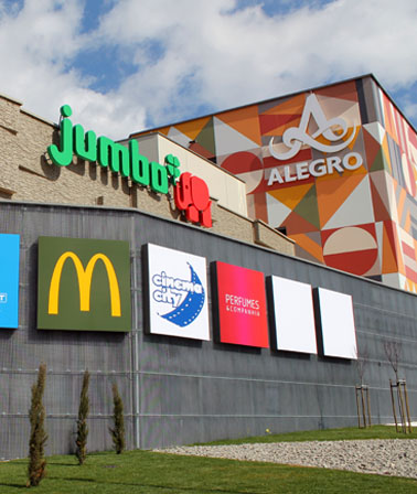 Alegro Shopping Mall in Alfragide